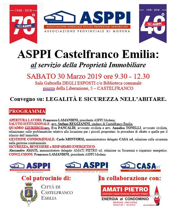 ASPPI CASTELFRANCO EMILIA: al servizio della Proprietà Immobiliare